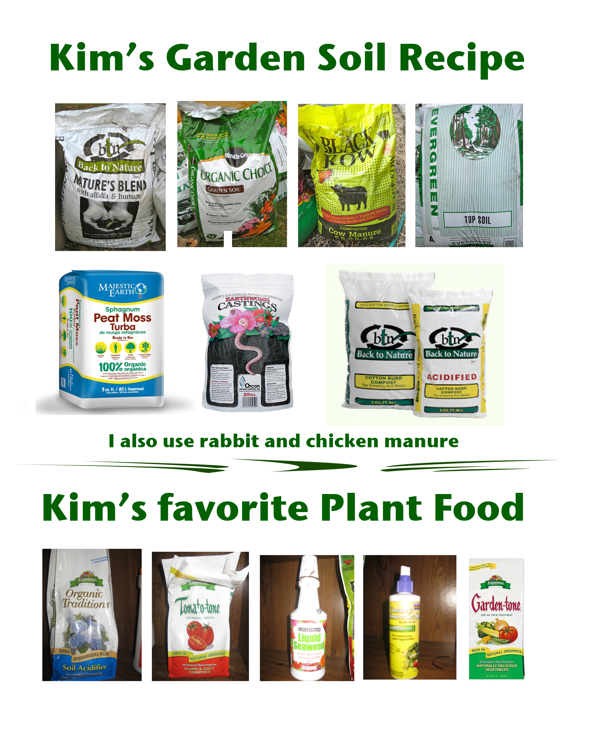 Kims Garden Soil Recipe Transition Now by Kim Martindale